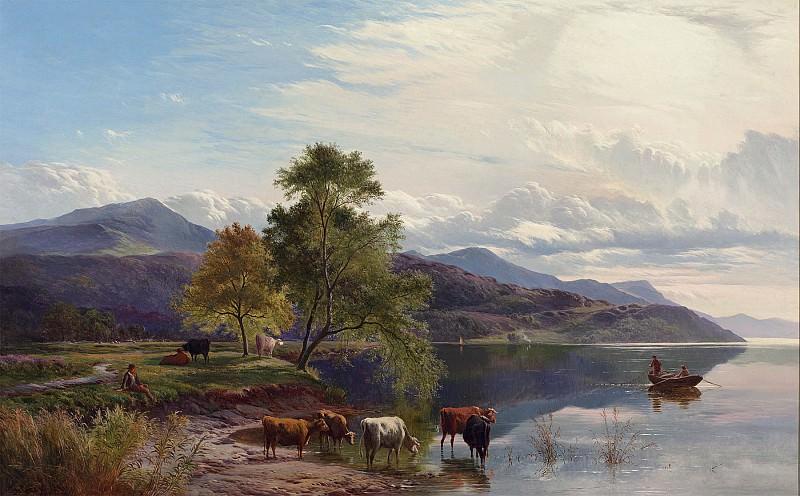 Sidney Richard Percy A lakeland scene 28517 20. часть 5 -- European art Европейская живопись