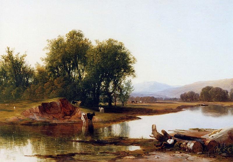 Walter Williams of Plymouth On the River Tavy Devon 12303 2426. часть 5 - европейского искусства Европейская живопись