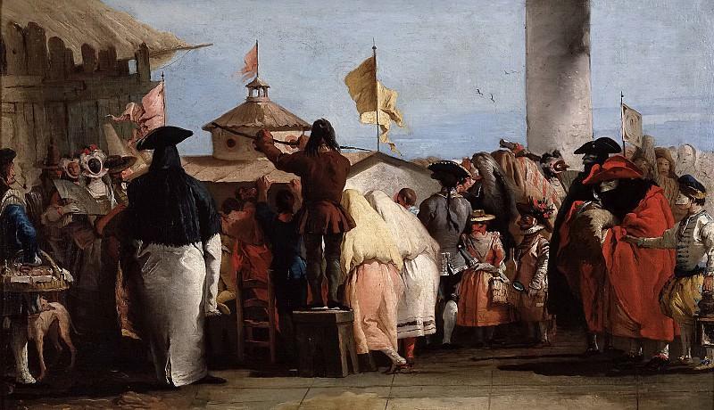 Tiepolo, Giandomenico -- El mundo nuevo. Part 6 Prado Museum