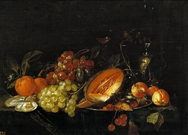 Heem, Cornelis de -- Mesa. Part 6 Prado Museum