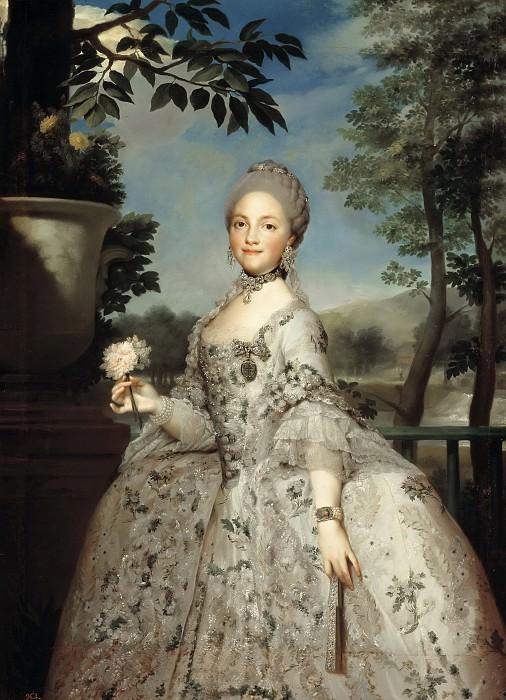 Mengs, Anton Rafael -- María Luisa de Parma, princesa de Asturias. Part 6 Prado Museum