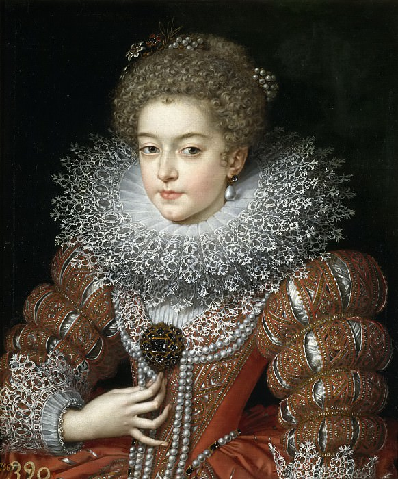 Pourbus el Joven, Frans -- Isabel de Francia, reina de España. Part 6 Prado Museum