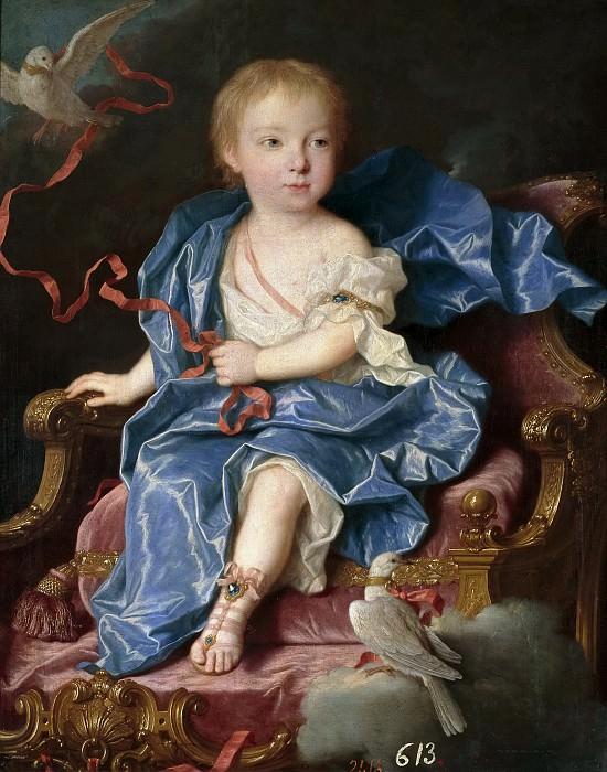 Ranc, Jean -- María Antonia Fernanda de Borbón, infanta de España (futura reina de Cerdeña). Part 6 Prado Museum