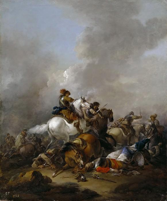 Lin, Herman van -- Choque de caballería. Part 6 Prado Museum