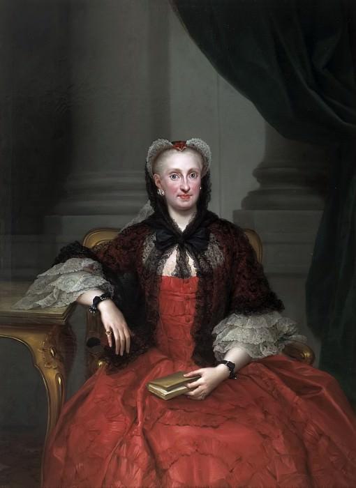 Mengs, Anton Rafael -- María Amalia de Sajonia. Part 6 Prado Museum