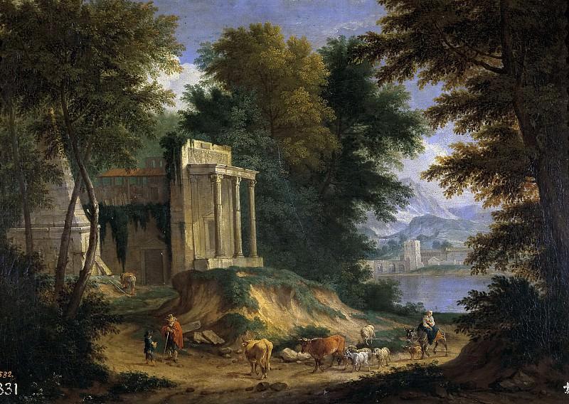 Баудевейнс, Адриан Франс -- Пейзаж с руинами. часть 6 Музей Прадо