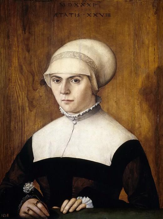 Amberger, Cristoph -- La esposa de Jörg Zörer, con 28 años. Part 6 Prado Museum