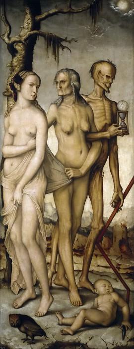 Baldung Grien, Hans -- Las Edades y la Muerte. Part 6 Prado Museum