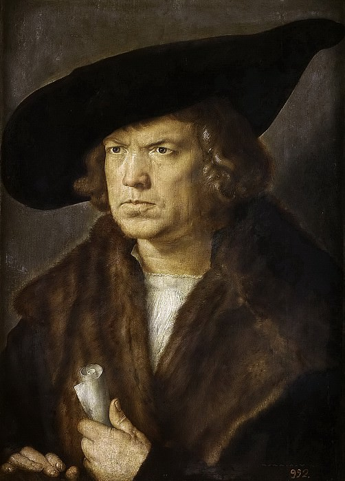 Portrait of an Man. Albrecht Dürer