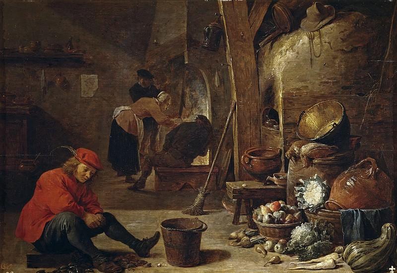 Teniers, David -- La cocina. Part 6 Prado Museum