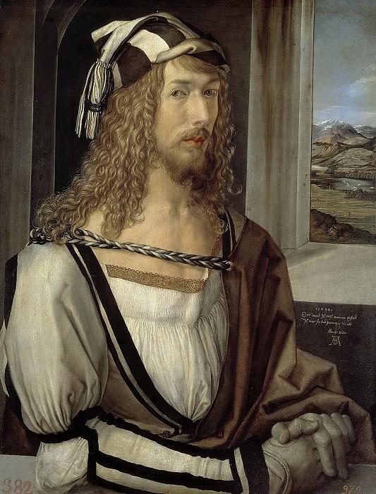 Durero, Alberto -- Autorretrato. Part 6 Prado Museum