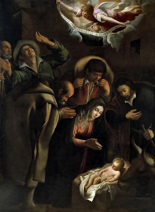 Lanchares, Antonio de -- La Adoración de los pastores. Part 6 Prado Museum