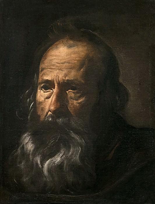 Cabeza de apóstol. Diego Rodriguez De Silva y Velazquez