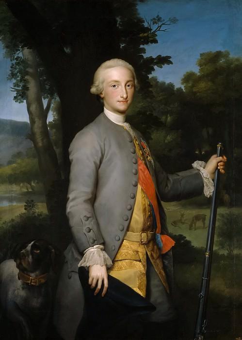Mengs, Anton Rafael -- Carlos IV, príncipe de Asturias. Part 6 Prado Museum