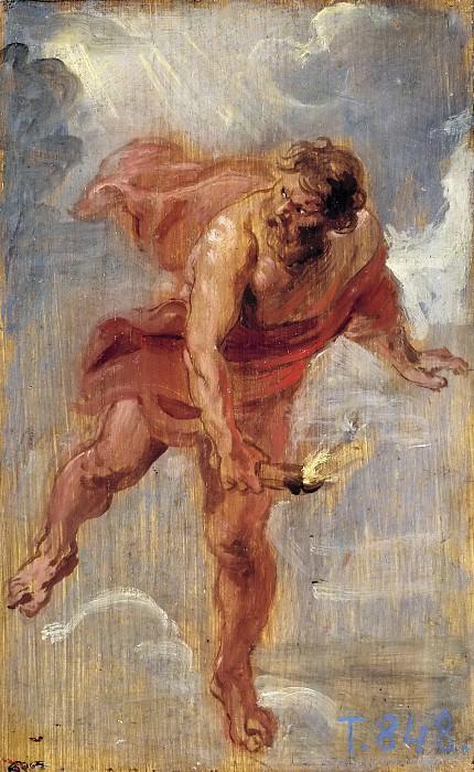 Рубенс, Питер Пауль -- Прометей. часть 6 Музей Прадо