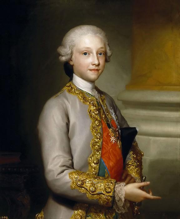 Mengs, Anton Rafael -- Gabriel de Borbón y Sajonia, infante de España. Part 6 Prado Museum