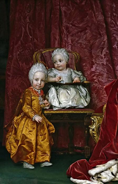 Mengs, Anton Rafael -- Los archiduques Fernando y María Ana de Austria. Part 6 Prado Museum