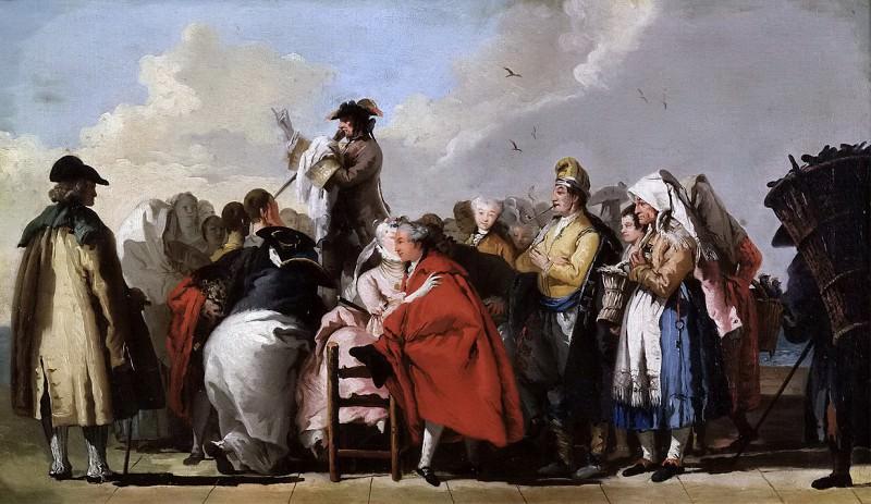 Tiepolo, Giandomenico -- El charlatán veneciano. Part 6 Prado Museum