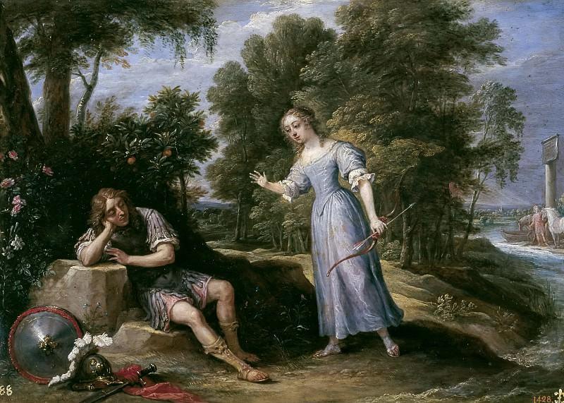 Тенирс, Давид II -- Армида влюбляется в Ринальдо на острове Оронт. часть 6 Музей Прадо
