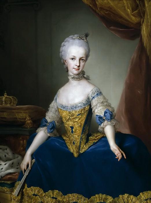 Mengs, Anton Rafael -- María Josefa de Lorena, archiduquesa de Austria. Part 6 Prado Museum