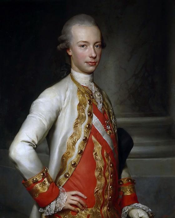 Mengs, Anton Rafael -- Leopoldo de Lorena, gran duque de Toscana. Part 6 Prado Museum