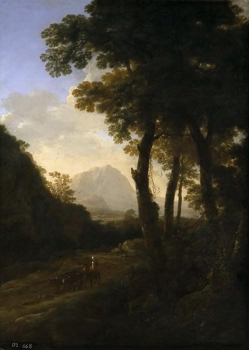 Both, Jan -- La salida al campo con el ganado. Part 6 Prado Museum