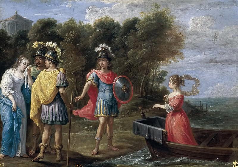 Teniers, David -- Separación de Armida y Reinaldo. Part 6 Prado Museum