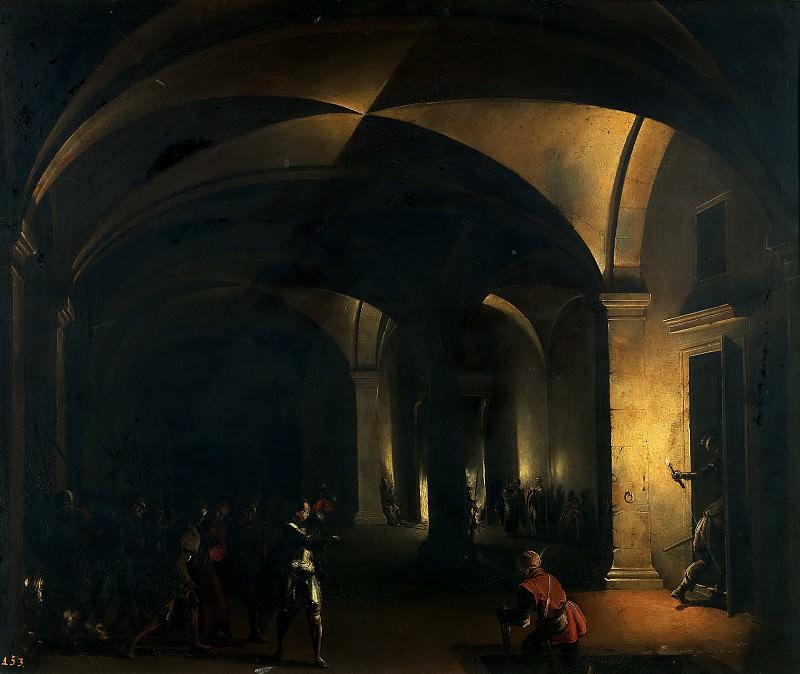 Steenwijck, Hendrick van -- Jesús en el atrio del Pontífice. Part 6 Prado Museum