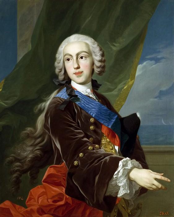 Loo, Louis Michel van -- Felipe de Borbón y Farnesio, infante de España, duque de Parma. Part 6 Prado Museum