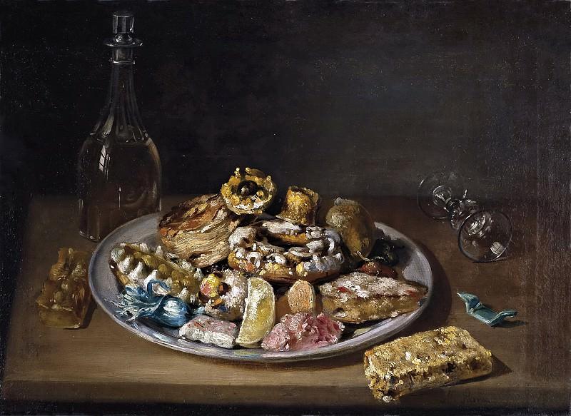 Parra, Miguel -- Plato de dulces. Part 6 Prado Museum