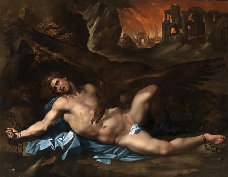 Martínez, Gregorio -- Prometeo encadenado. Part 6 Prado Museum