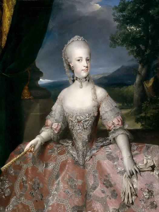 Mengs, Anton Rafael -- María Carolina de Habsburgo-Lorena, reina de Nápoles. Part 6 Prado Museum