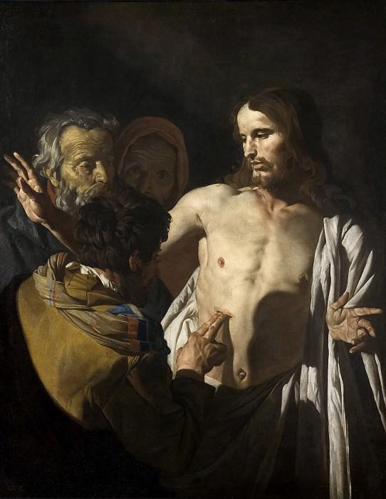 Stom, Matthias -- La incredulidad de Santo Tomás. Part 6 Prado Museum