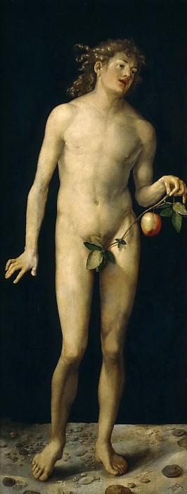 Durero, Alberto -- Adán. Part 6 Prado Museum