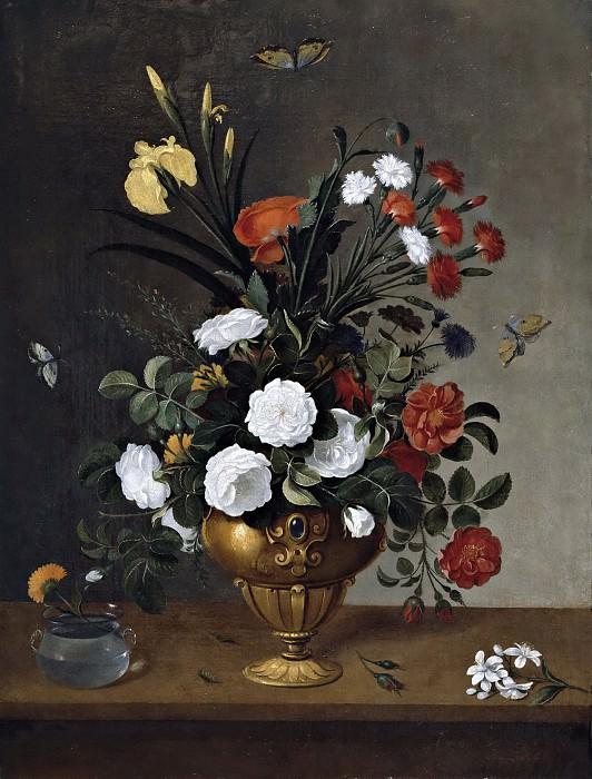 Camprobín, Pedro -- Florero y recipiente de cristal. Part 6 Prado Museum