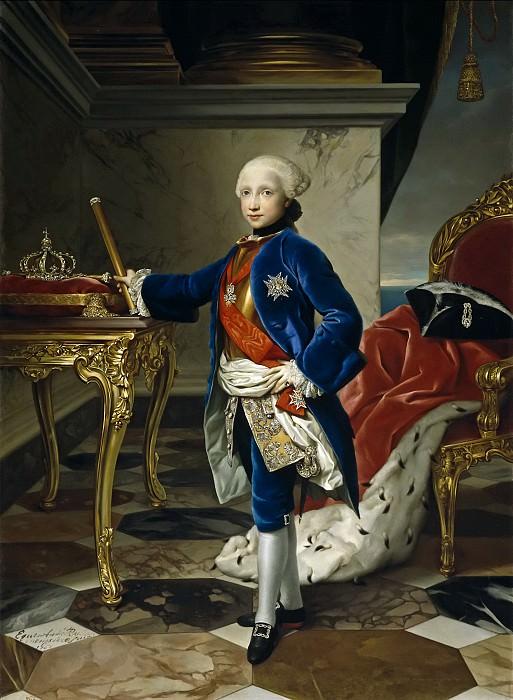 Mengs, Anton Rafael -- Fernando IV, rey de Nápoles. Part 6 Prado Museum