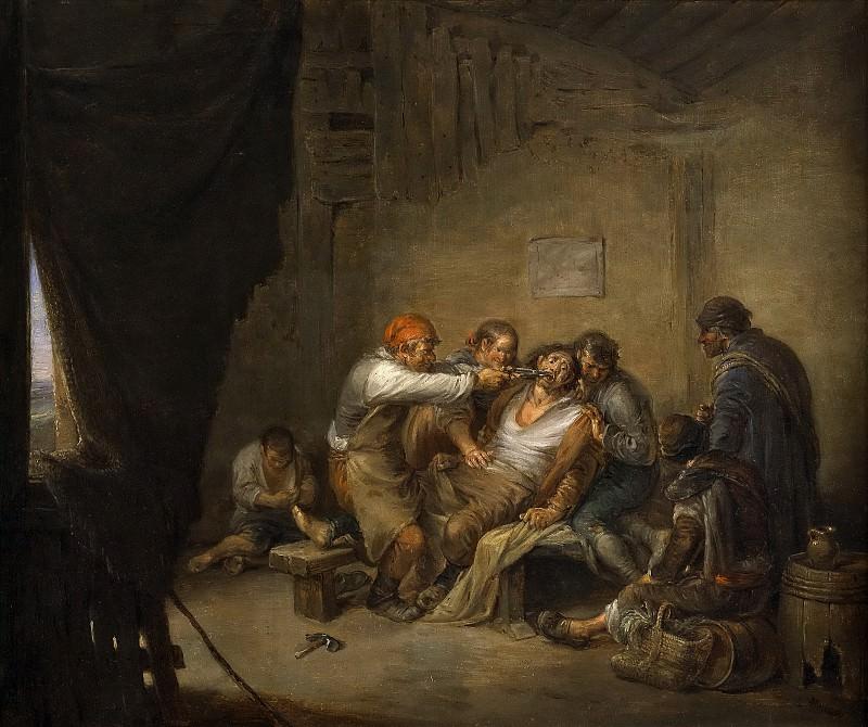 Alenza y Nieto, Leonardo -- El sacamuelas. Part 6 Prado Museum