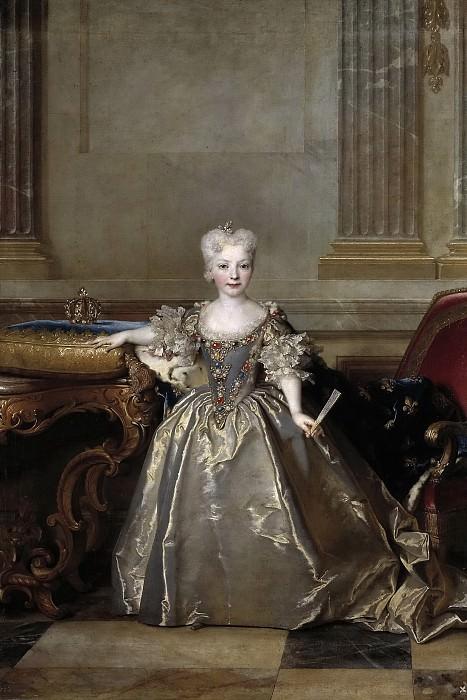 Largillière, Nicolas de -- María Ana Victoria de Borbón y Farnesio. Part 6 Prado Museum