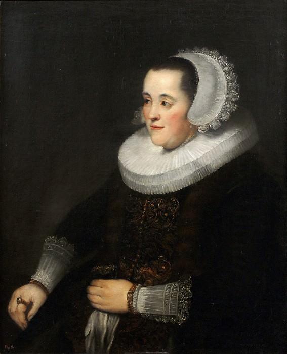 Anónimo (Taller de Rembrandt Harmensz. van Rijn) -- Retrato de señora. Part 6 Prado Museum