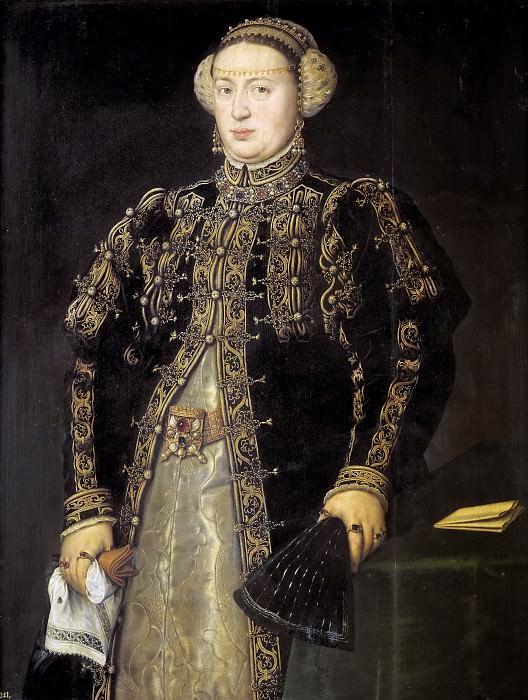 Мор ван Дасхорст, Антонис -- Екатерина Австрийская, супруга Иоанна III Португальского. часть 6 Музей Прадо