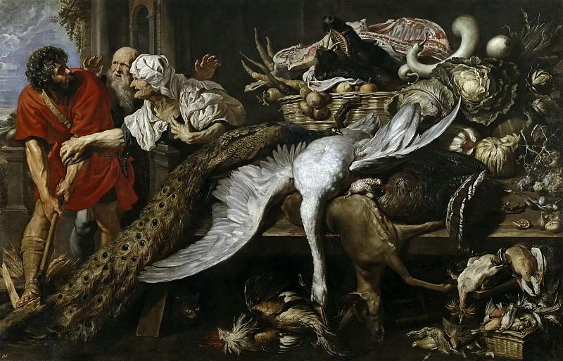 Rubens, Pedro Pablo; Snyders, Frans -- Filopómenes descubierto. Part 6 Prado Museum