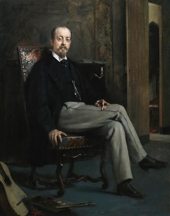 Madrazo y Garreta, Raimundo de -- El pintor Benito Soriano Murillo. Part 6 Prado Museum