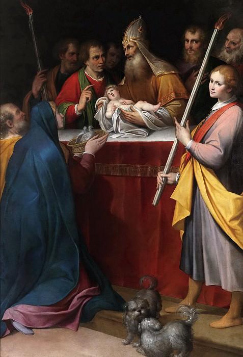 Procaccini, Camillo -- La Presentación en el Templo. Part 6 Prado Museum