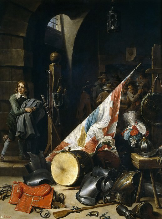 Teniers, David -- Un cuerpo de guardia. Part 6 Prado Museum