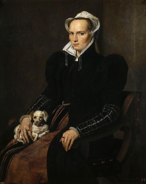 Moro, Antonio -- Retrato de una mujer casada. Part 6 Prado Museum