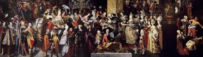 Strobel el Joven, Bartholomäus -- Degollación de San Juan Bautista y banquete de Herodes. Part 6 Prado Museum
