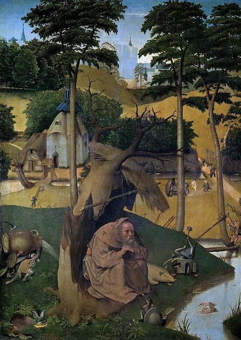 El Bosco -- Las tentaciones de San Antonio Abad. Part 6 Prado Museum