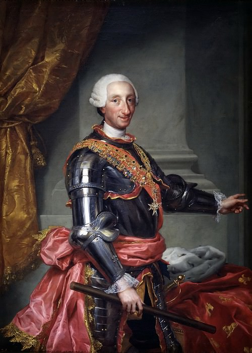 Mengs, Anton Rafael -- Carlos III. Part 6 Prado Museum