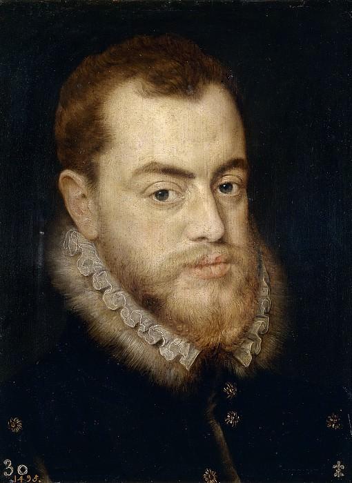 Heere, Lucas de (Atribuido a) -- Felipe II. Part 6 Prado Museum