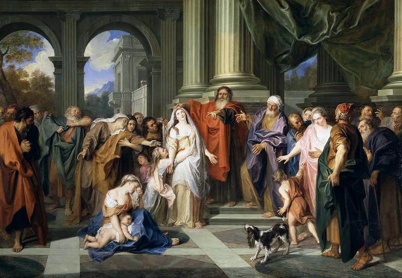 Куапель, Антуан -- Сусанну обвиняют в супружеской измене. часть 6 Музей Прадо